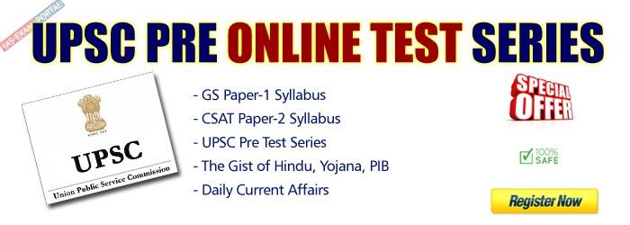 UPSC-PRE-ONLINE-TEST-SERIES
