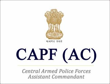 UPSC CAPF (AC) Online Form 2019