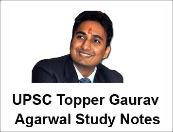 Download) UPSC Topper Gaurav Agarwal Study Notes in PDF | IAS EXAM