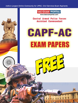 CAPF-AC Papers PDF