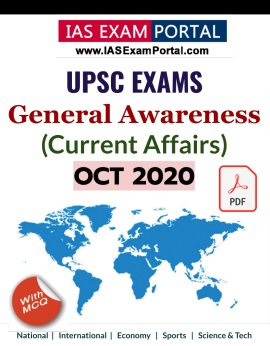 General Awareness for UPSC Exams - NOV 2020