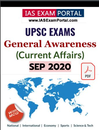 General Awareness for UPSC Exams - NOV 2020