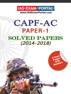 CAPF-AC SOLVED PAPERS PDF