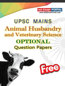 UPSC-MAINS-ANIMAL HUSBANDRY AND VETERINARY SCIENCE-PAPERS-PDF
