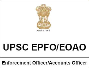 UPSC EPFO Exam
