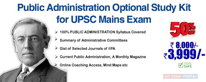 UPSC -Mains-Public-Administration-study-kit