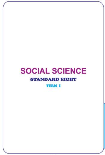 Download) Tamil Nadu Board Textbooks: Class 8 (History