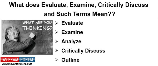 Critically evaluate essays