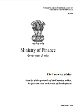UPSC Civil Service Ethics PDF