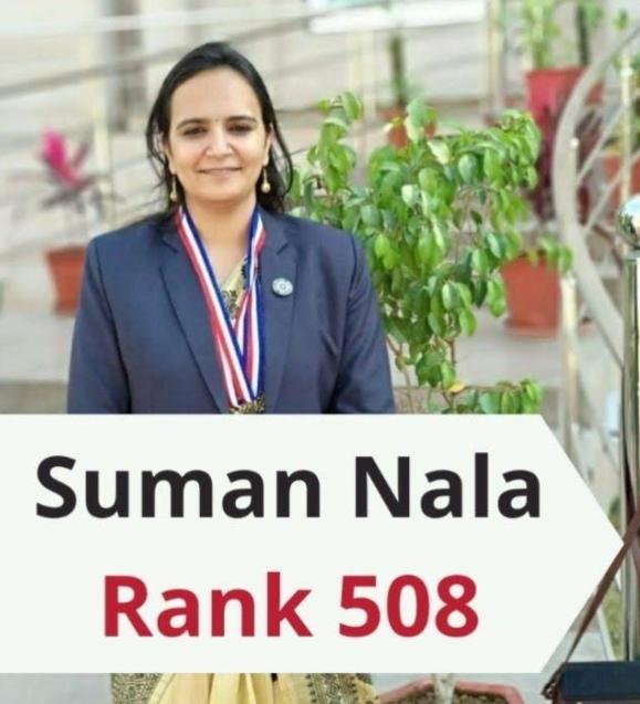Interview Conversation With Suman Nala | CSE-2019 | Rank-508 |Topper | UPSC  - YouTube