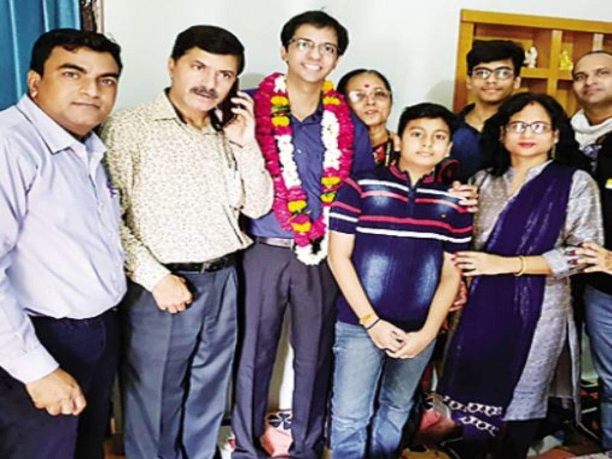 29-year-old engineer from Jaipur clears exam in 4th try | Jaipur News -  Times of India