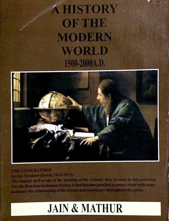 History of modern world by jain & Mathur: Amazon.in: Electronics
