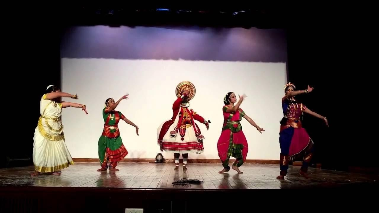 India Day - 91st FC - Fusion of Classical Dances by Officer Trainees at  LBSNAA - YouTube