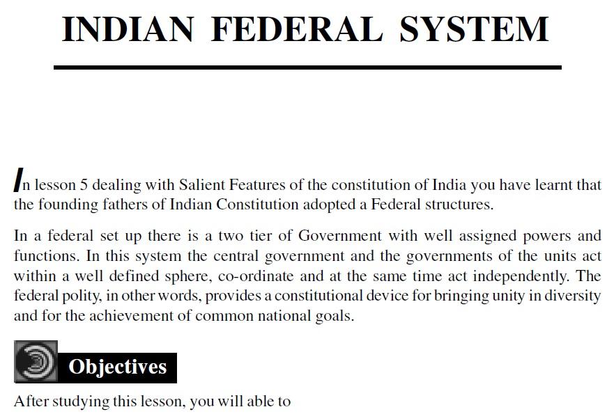 Download) NIOS PDF : Political Science-Class-12 | IAS EXAM