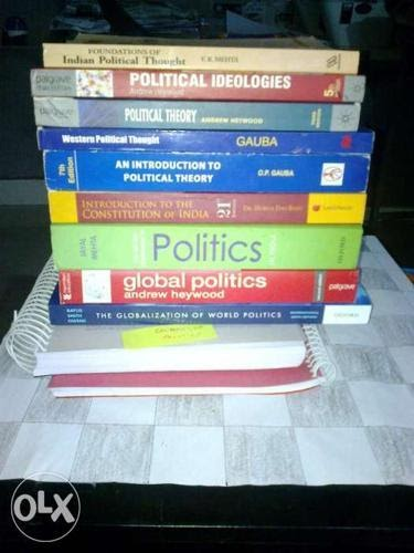 Political science optional new books for UPSC CSE IAS exam for Sale in  Jodhpur, Rajasthan Classified | IndiaListed.com