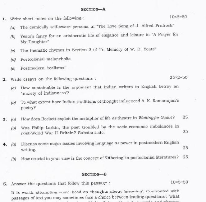 Upsc civil services exam english essay paper dropped